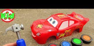 Xem Lắp ráp xe ô tô đua Lightning Mcqueen #2 – đồ chơi trẻ em B1283M Kid Studio