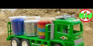 Xem Tìm kiếm ô tô với hạt nhũ màu sắc, xe tải – đồ chơi trẻ em F494P Kid Studio
