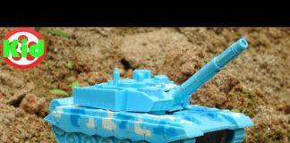 Xem Tìm kiếm xe ô tô trong núi cát với xe tăng, máy bay – đồ chơi trẻ em H936P Kid Studio