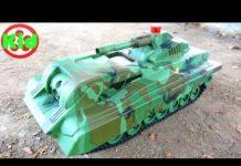 Xem Xe tăng, xe ô tô trộn bê tông, xe đua – đồ chơi trẻ em A19 Kid Studio