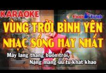 Xem Karaoke Vùng Trời Bình Yên Disco Remix | Nhạc Sống Hay Nhất 2017 | KEYBOARD TRƯỜNG GIANG