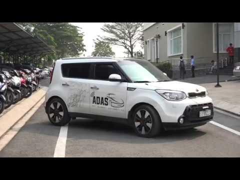 Xem XE Ô TÔ KHÔNG NGƯỜI LÁI ĐẦU TIÊN Ở VIỆT NAM   Viet Nam Intelligent Unmanned Vehicle