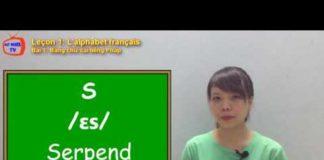 Video Tiếng Pháp cơ bản – Bài 1 Bảng chữ cái tiếng Pháp