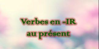 Xem Video Tự học tiếng Pháp : #18 Chia động từ nhóm hai – kết thúc bằng  -IR ở thì hiện tại