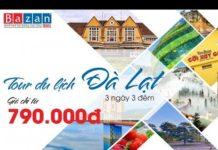 Tour du lịch Đà Lạt 3N3Đ trọn gói #1450k
