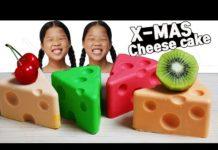 Xem 먹방 X-MAS 톰과제리 치즈케잌 Tom and Jerry Cheesecake トムとジェリーチーズケーキ Mukbang TwinRoozi 쌍둥이루지 먹방