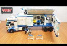 Xem Lego xe cảnh sát bắt cướp loại to nhà tù di động – build brick police car toy for kid