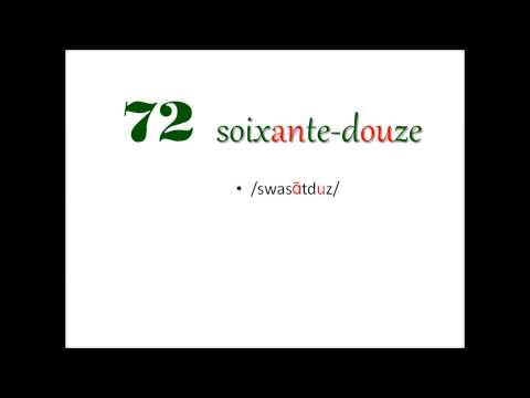 Xem Ngay Tự học tiếng Pháp căn bản: #2 (phần cuối) – Số đếm