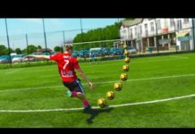 Video WEIGHTED PENALTY FOOTBALL ASSAULT COURSE