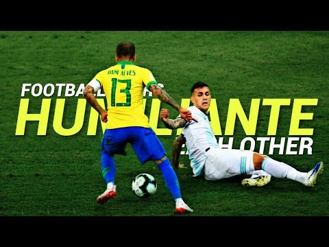 Video Football Stars Humiliate Each Other 2019
