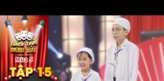 """Xem Thách thức danh hài 5  Tập 15: Bác sĩ nhí """"muốn ăn cả thế giới"""" khiến Trường Giang không nói nên lời"""