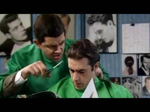 Xem Cutting Men's Hair   Mr. Bean Official Cartoon