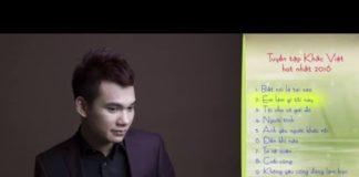 Xem Khắc Việt Tuyển Tập Nhạc Hay Nhất Năm 2016 [Official]