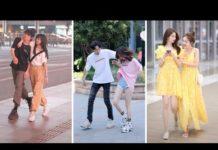 Xem Thời Trang Dạo Phố Của Giới Trẻ Trung Quốc | Fashion Couple On The Street (p3)