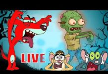 Xem Rat-A-Tat |'LIVE SCARY CARTOONS for Kids Doggy Vs Zombies Video'| Chotoonz Kids Funny Cartoon Videos