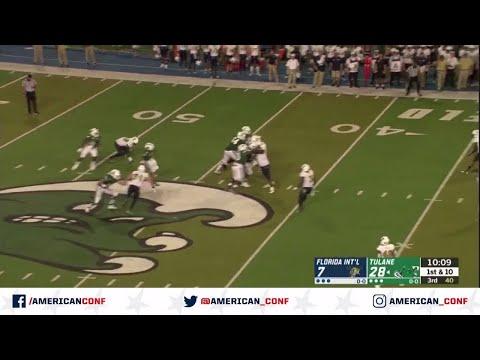 Video 2019 American Football Highlights – FIU vs Tulane