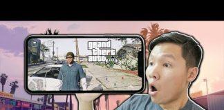 Xem SLENDERMAN BẤT NGỜ KHI CHƠI ĐƯỢC GTA 5 BẰNG ĐIỆN THOẠI IPHONE XS MAX