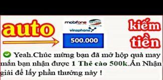 Xem Auto Xem Video Kiếm Tiền Trên Điện Thoại | Cách Kiếm Tiền Online
