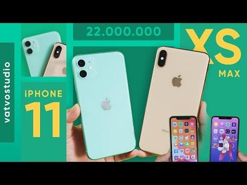 Xem 22 triệu mua iPhone 11 hay iPhone Xs Max?
