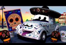 Xem 💀 Chếc XE XƯƠNG XẨU Lễ hội của người chết – đội xe tuần tra 🚓 🚒 những bộ phim hoạt hình về xe tải