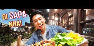 SAPA #1: Ăn thịt nướng, gà nướng no nê |Du lịch ẩm thực Tây Bắc