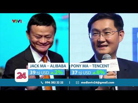 Tỷ phú công nghệ chiếm ưu thế trong giới siêu giàu Trung Quốc   VTV24