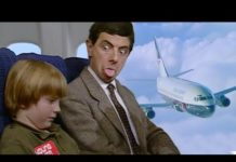 Xem Safe Flight Mr Bean!   Funny Clips   Mr Bean Official