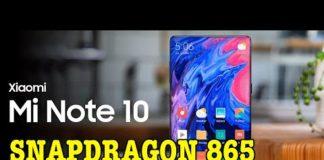 Xem Xiaomi Mi Note 10 điện thoại Snapdragon 865 ĐẦU TIÊN TRÊN THẾ GIỚI