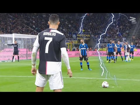 Video Rare Free Kick Goals in Football