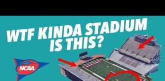 Video Critiquing the WORST COLLEGE FOOTBALL STADIUMS – One hosted a SUPERBOWL?