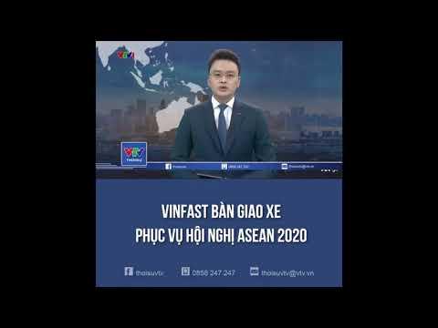 Xem VINFAST Bàn Giao Xe Phục Vụ Hội Nghị ASEAN 2020