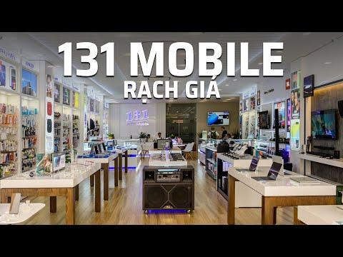 Xem Một vòng trung tâm điện thoại 131 Mobile Rạch Giá