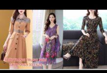 Xem Thời Trang Tuổi Trung Niên, Đầm Trung Niên đẹp U50, U40 Nữ Sang Trọng Mới Nhất 2019 tphcm, Hà Nội