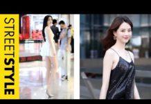 Xem 03 Nữ thần khiến bạn không thể rời mắt 👁️👁️🗨️ Thời trang đường phố Trung Quốc #5