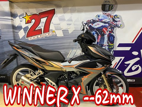 WINNER X 62mm – công nghệ thời đại mới