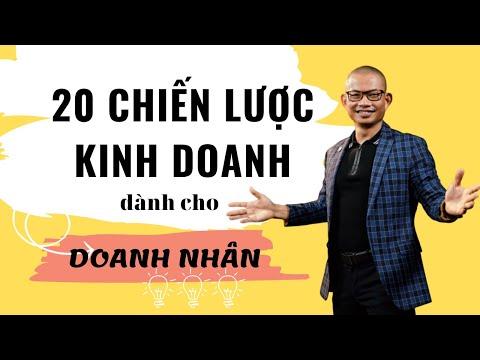 Xem Khởi nghiệp: 20 chiến lược kinh doanh thành công | Phạm Thành Long