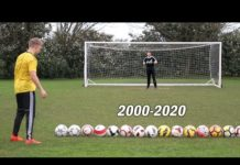 Video Scoring A Goal With Every Premier League Football From 2000-2020