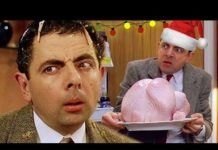 Xem Christmas EXPLOSION   Bean Movie   Funny Clips   Mr Bean Official