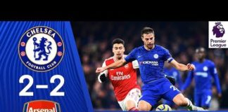 Video Chelsea 2-2 Arsenal   Premier League Highlights