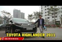 SIÊU HIẾM: Toyota Highlander 2011 cực rộng, cực đầm full công nghệ cho anh em mê xe