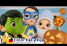Xem Halloween Baby Hai | Kinderlieder und Cartoons | Little Baby Bum | Moonbug Kids Deutsch