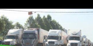 Xem Còn hàng trăm xe nông sản tồn tại cửa khẩu | THDT