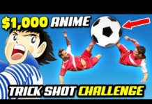 Video $1000 EPIC ANIME Trick Shots Challenge – Football and Soccer Pros Vs. Trick Shot Experts