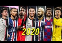 Video Football Skills Mix 2020 ● Dybala ● Sancho ● Mbappé ● Pogba ● Messi ● Neymar & More HD #2