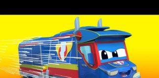 Xem Siêu xe tải – Thánh PATRICK: Mưa vàng trên đường! – Thành phố xe hơi – Hoạt hình thiếu nhi