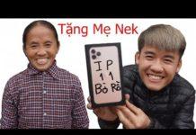 Xem Hưng vlog – Troll Mẹ Tặng Mẹ Điện Thoại Iphone 11 Pro Max | Prank Mom