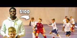 Video I Donated a Kid $100 Football Boots If His Team Wins a Soccer Game #3