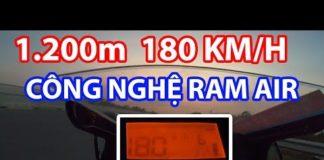 Tăng mã lực bằng công nghệ Ram Air trên xe 150cc
