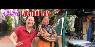 DU LỊCH LÀO THÁI LAN BẰNG ĐƯỜNG BỘ | Trải nghiệm Chợ đêm Vientiane và qua Udon Thani chơi