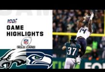 Video Seahawks vs. Eagles Wild Card Round Highlights | NFL 2019 Playoffs